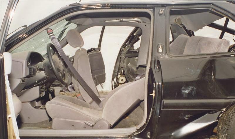 В США назвали самые безопасные места для детей в автомобилях