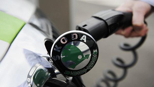Škoda разрабатывает серийный электромобиль