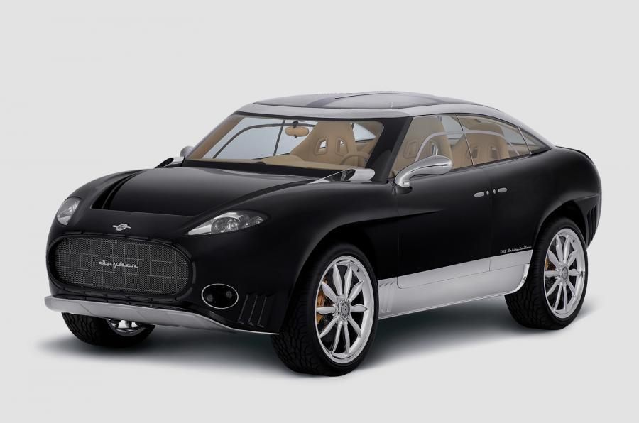 Spyker выпустит электрокроссовер и новый суперкар