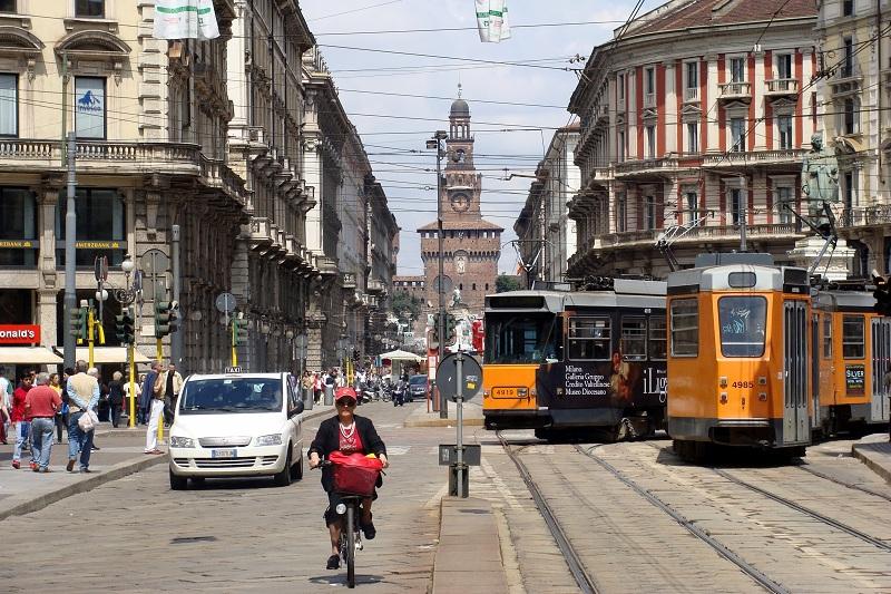 Милан проживёт три дня без автомобилей
