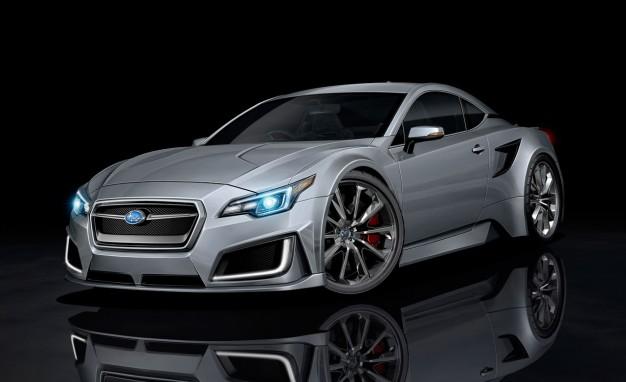 Subaru разрабатывает новое спорткупе