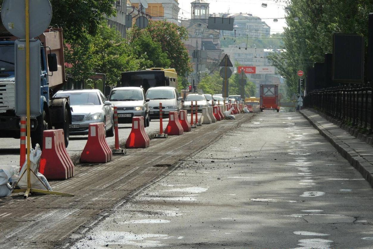 Чётная сторона бульвара Тараса Шевченко будет временно перекрыта