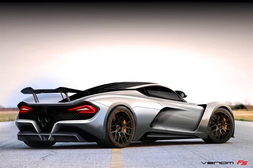 Venom F5 rear