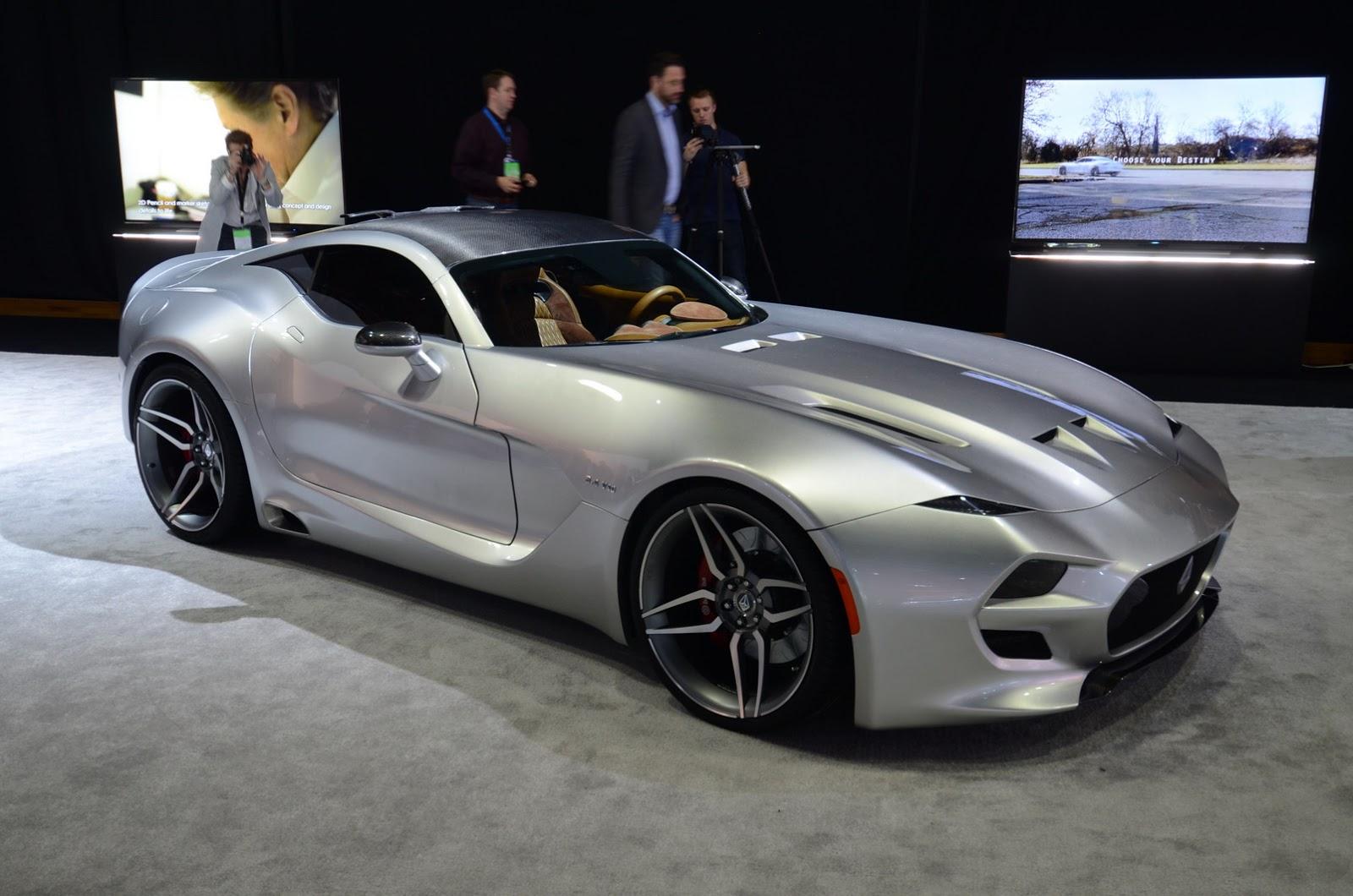 Суперкар Force 1 оказался не таким, как боялись в Aston Martin