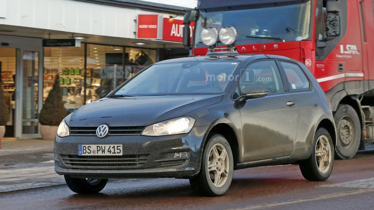 Volkswagen спрятал вседорожный Polo в кузов трёхдверного Golf