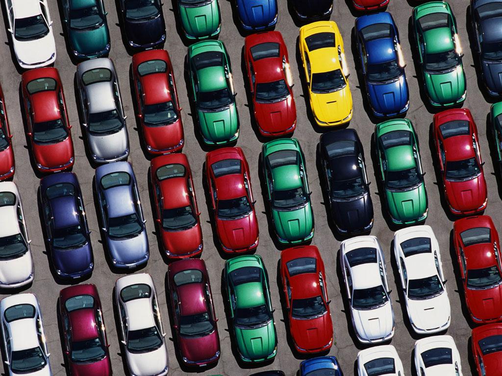 Составлен рейтинг любимых цветов украинских автомобилистов