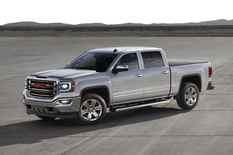 Большие пикапы GM стали гибридами