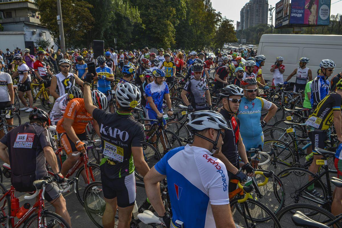 В Киеве 2 сентября перекроют движение транспорта по ряду улиц из-за велозаезда «Киевская Сотка»