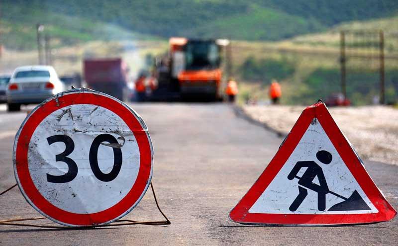 Ремонт Бориспольского шоссе продлится до конца мая