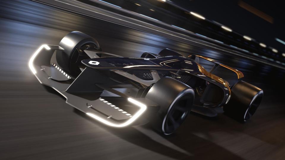 Премьера мощного болида будущего Renault R.S. 2027 Vision