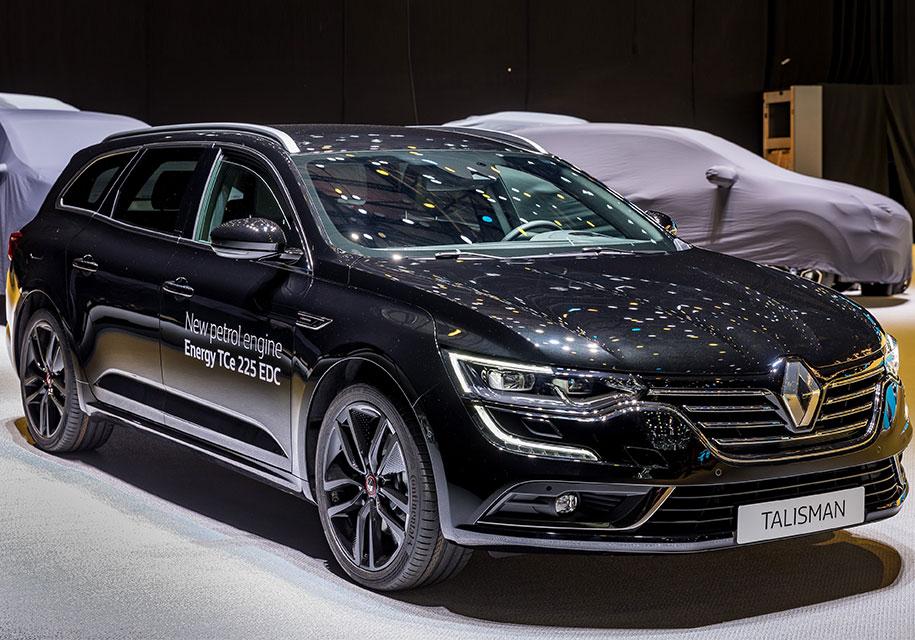 Женева 2018: Renault представила флагманский седан и универсал Talisman S-Edition