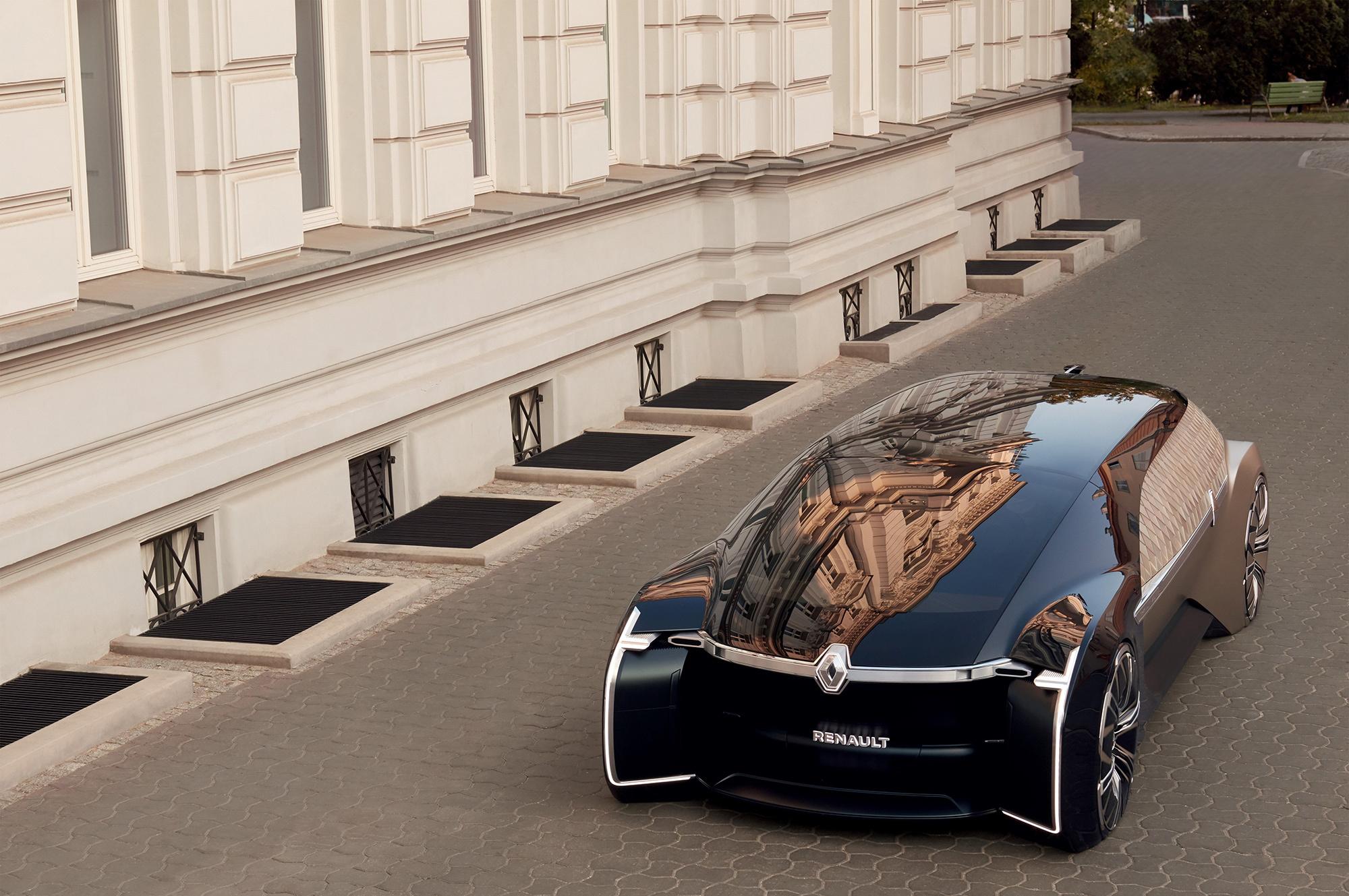Париж 2018: Renault показала концептуальный беспилотник EZ-Ultimo