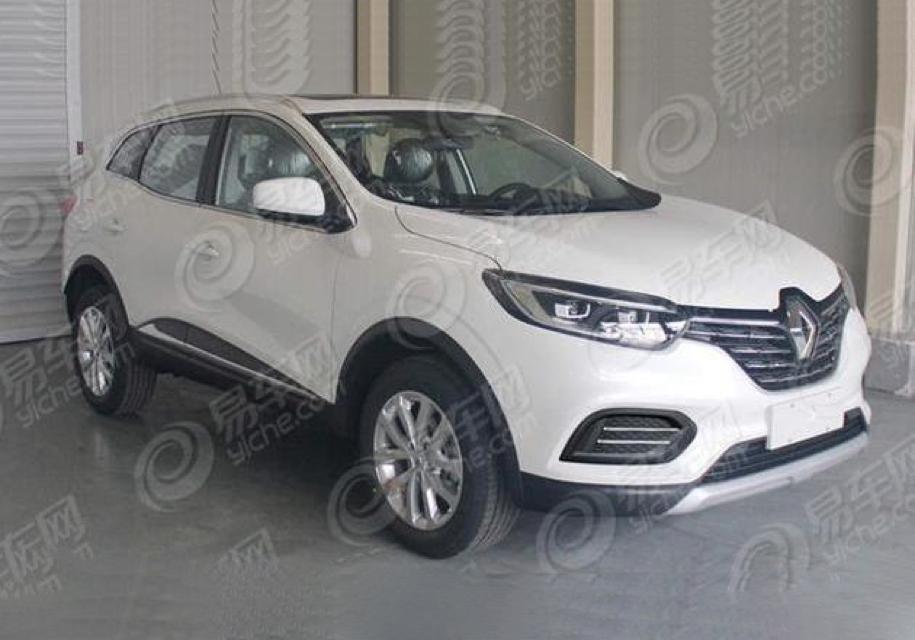Обновлённый Renault Kadjar рассекретили раньше срока