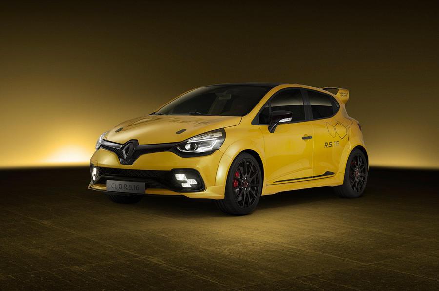 Хардкорный Renault Clio назвали в честь болида Формулы-1