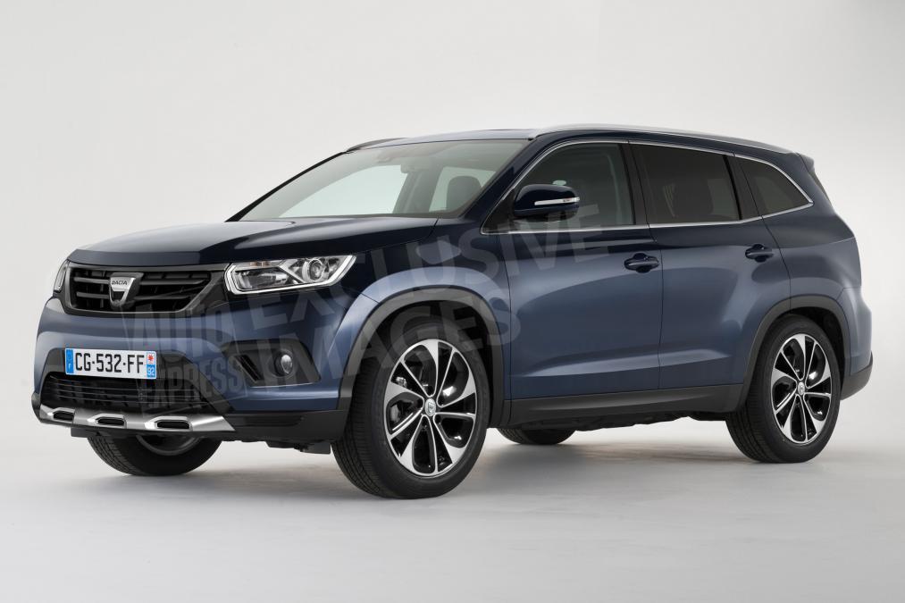 Новый Renault Duster получит семиместную модификацию