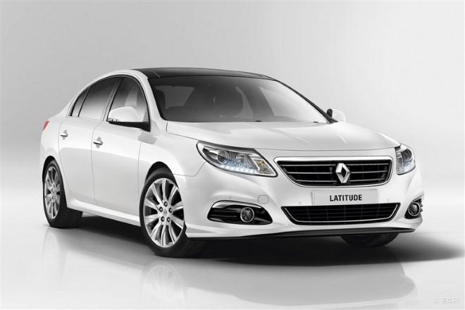 Renault Latitude пережил небольшой рестайлинг
