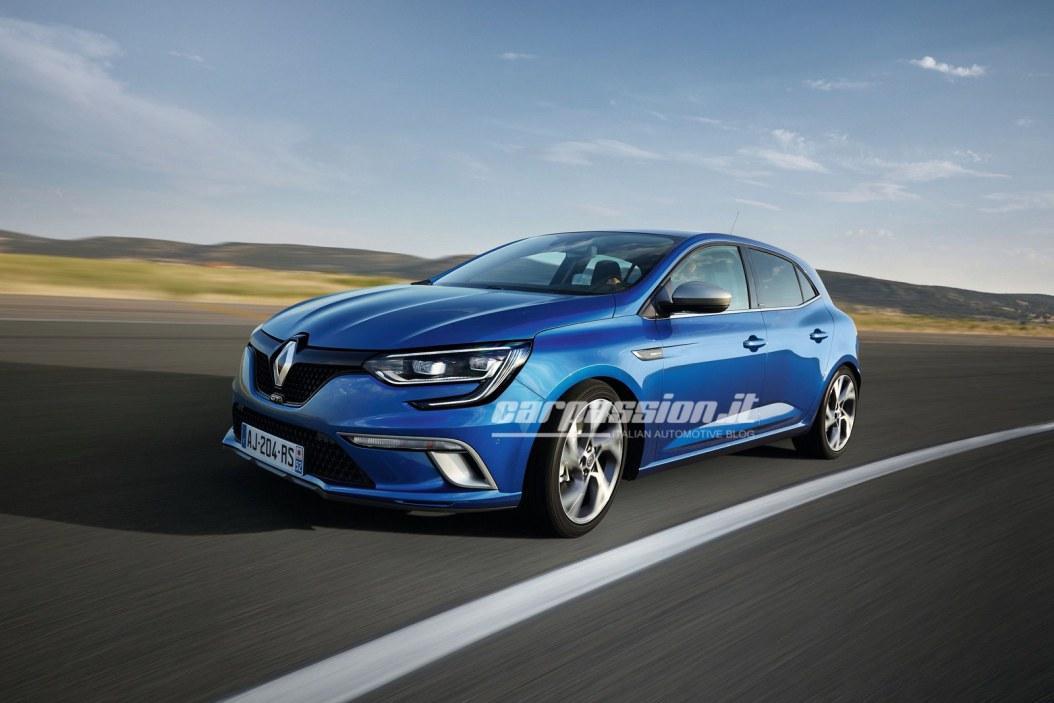 Новый Renault Megane: появились первые официальные фотографии