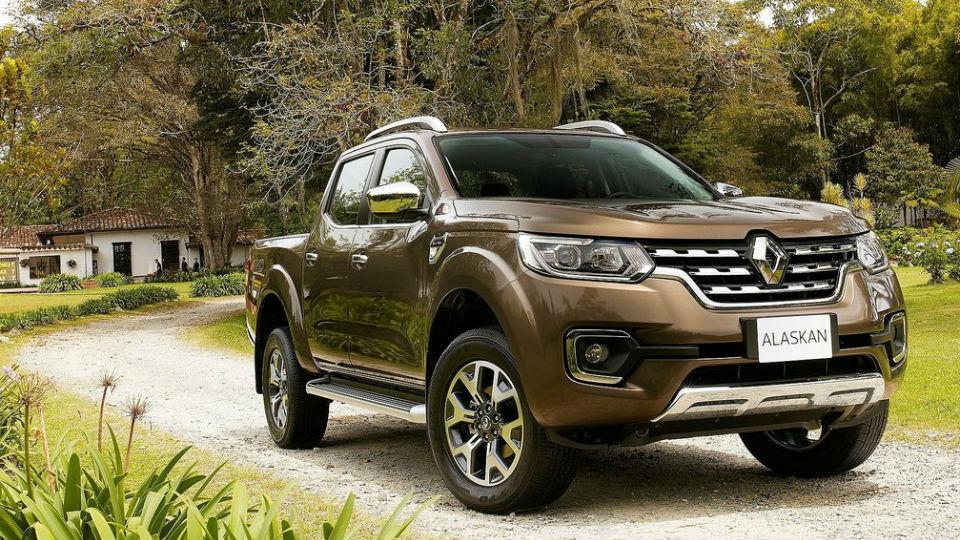 Компания Renault представила серийный пикап Alaskan