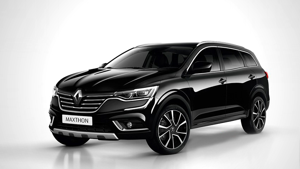 Сменщика Renault Koleos назовут Maxthon