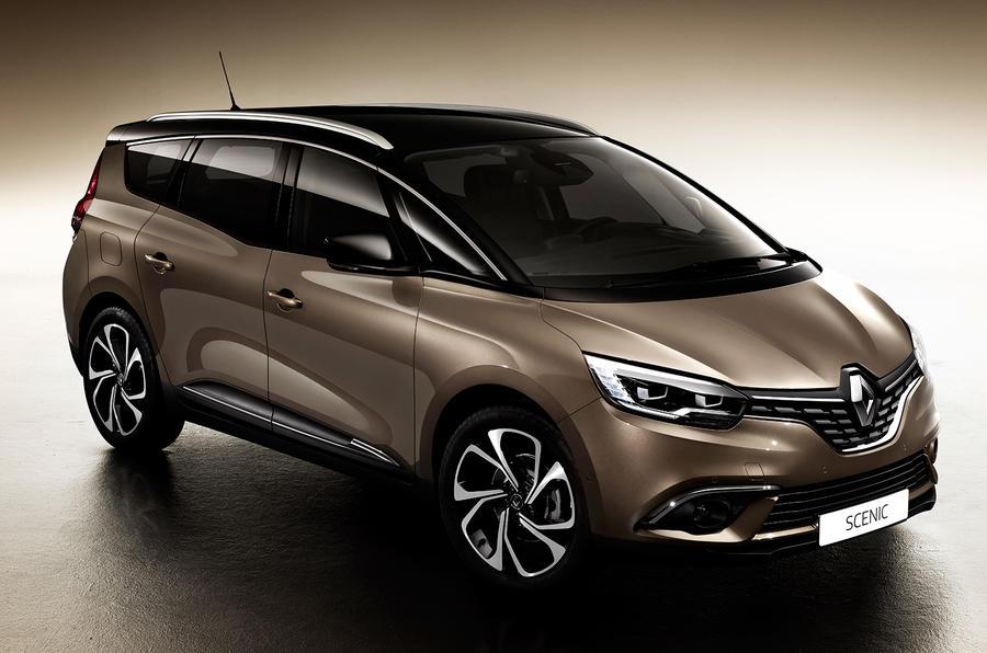 Компания Renault представила новый Grand Scenic