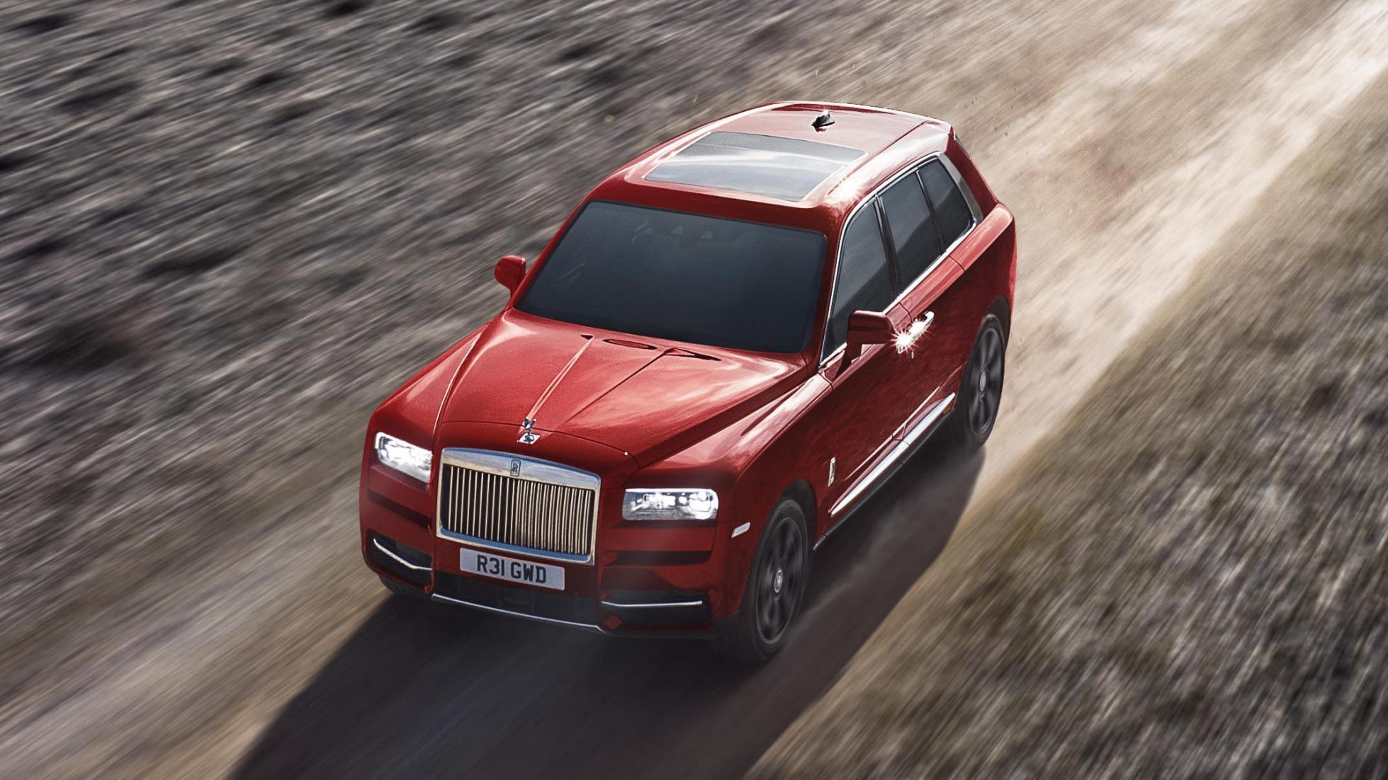Новый Rolls-Royce Cullinan может стать гибридом