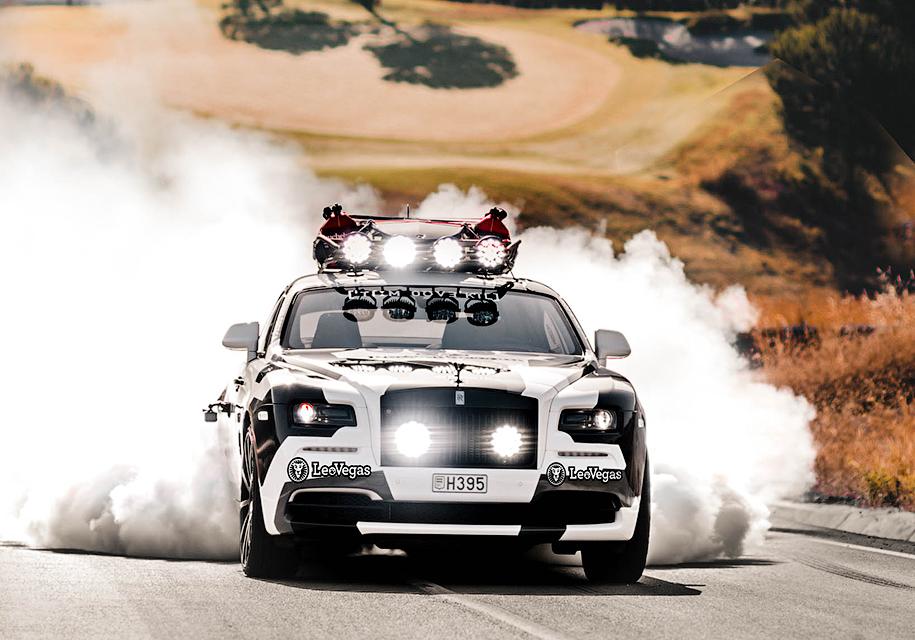 Уникальное купе Rolls-Royce Wraith выставили на продажу