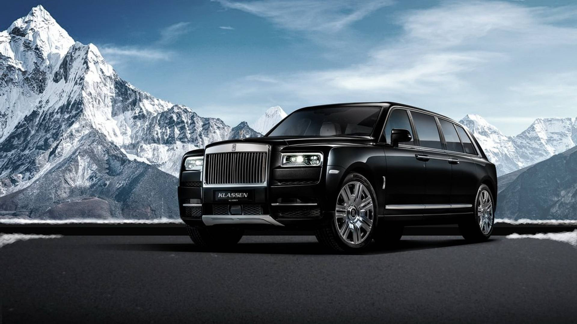 Rolls Royce Limo >> Rolls Royce Cullinan Suv Turned Into An Armored Limousine