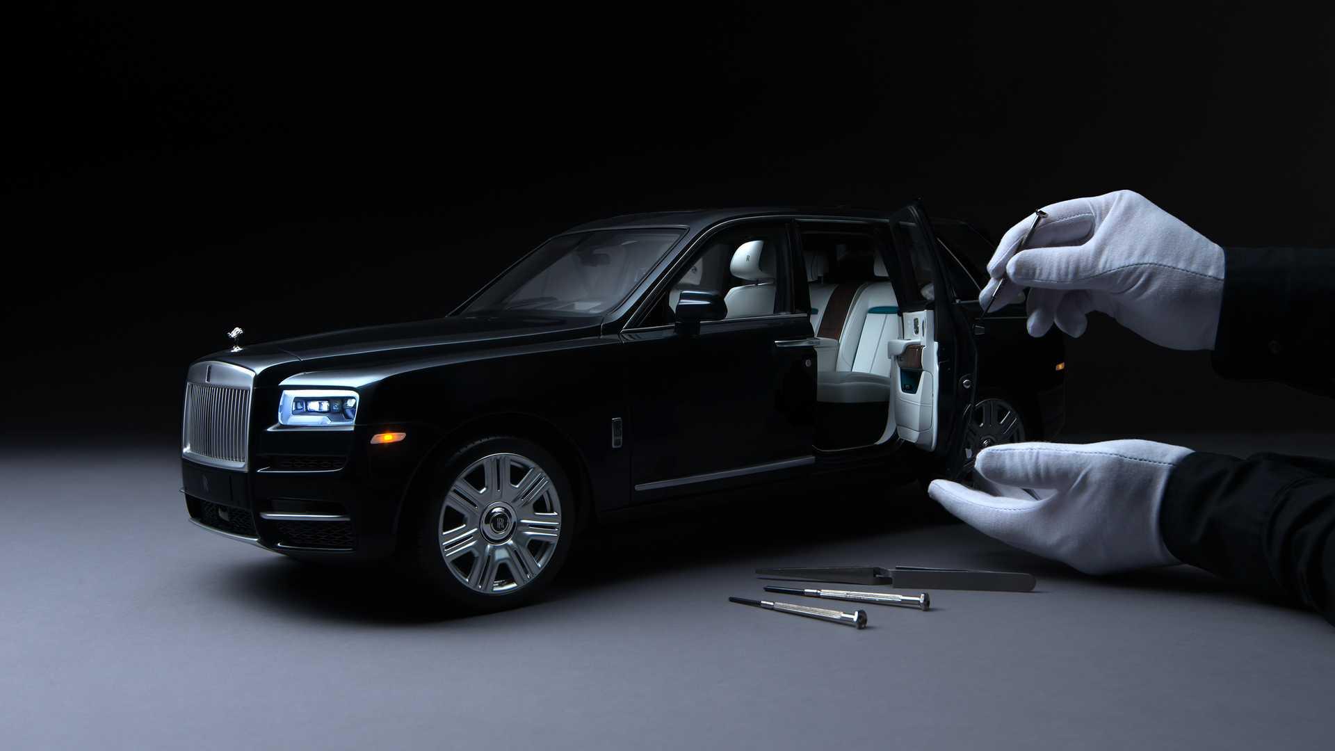 Rolls-Royce представил миниатюрный Cullinan