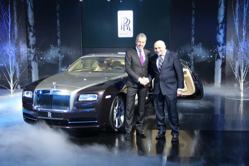 Новый Rolls Royce был презентован в Украине