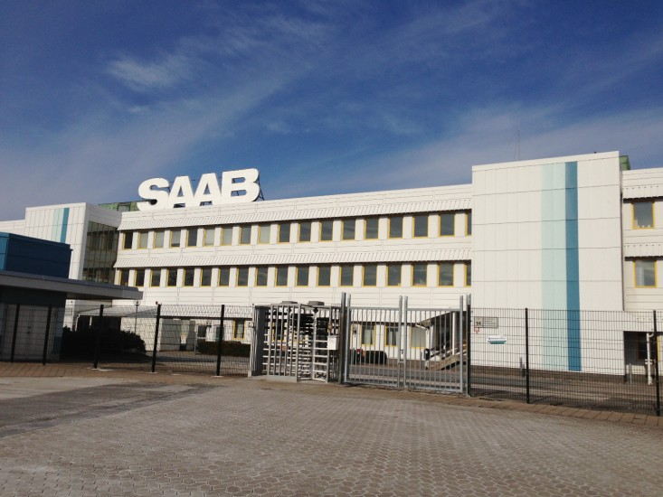 Завод Saab снова работает