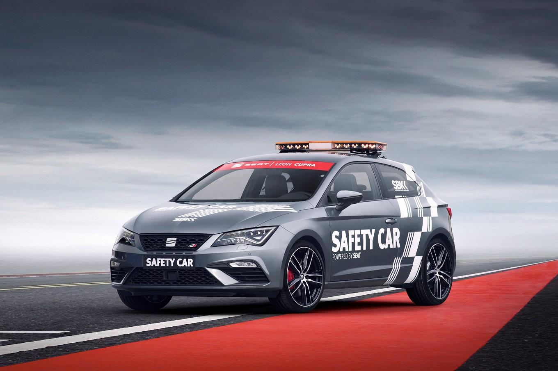 Seat Leon Cupra впервые стал автомобилем безопасности на международных соревнованиях