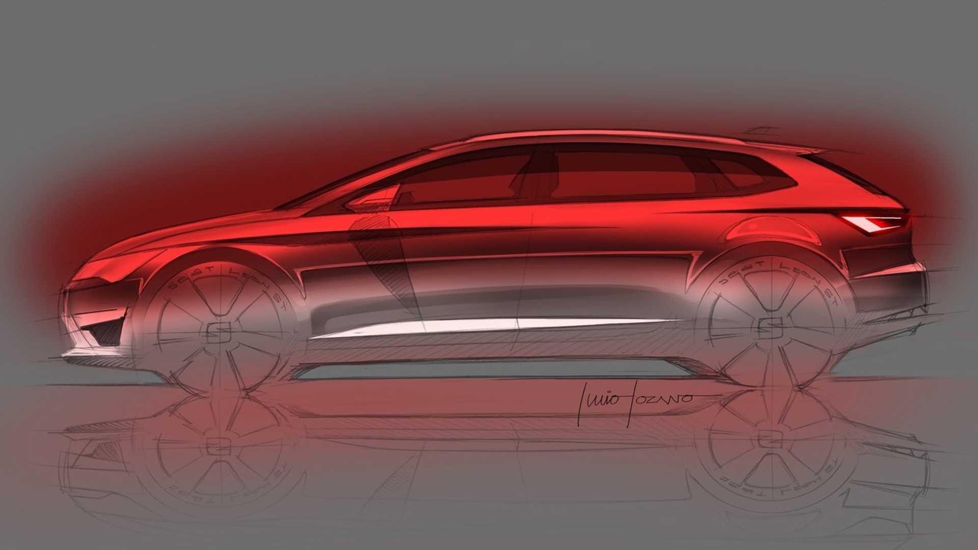 Хэтчбек Seat Leon продемонстрирует новый дизайн марки