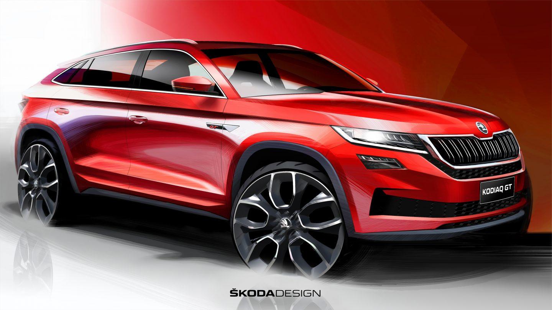 Новый кроссовер Škoda Kodiaq GT не приедет в Европу