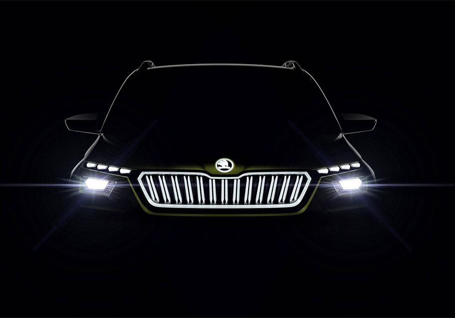 Кроссовер Škoda Vision X — полноприводный гибрид с ГБО
