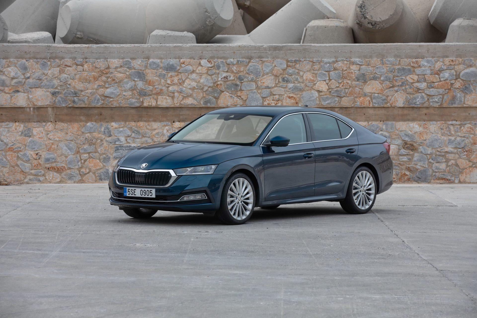 Škoda gibt den Verkauf des neuen Gases Octavia bekannt