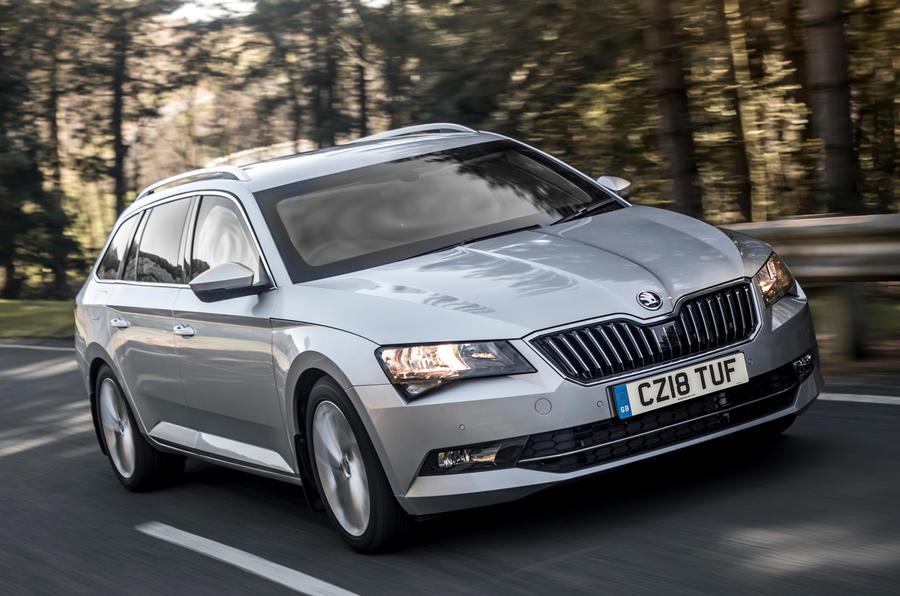 Škoda выпустила бронированный универсал Superb