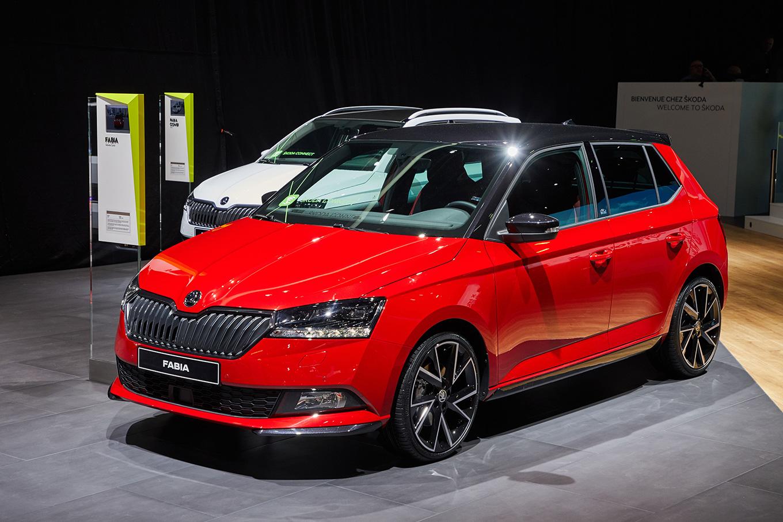 Женева 2018: обновлённая Škoda Fabia и Škoda Kodiaq Laurin & Klement