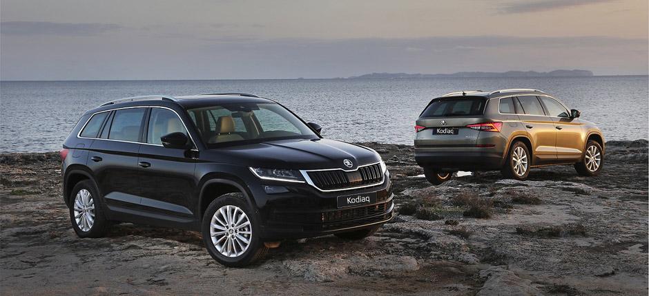 Кроссовер Škoda Kodiaq получил украинские цены