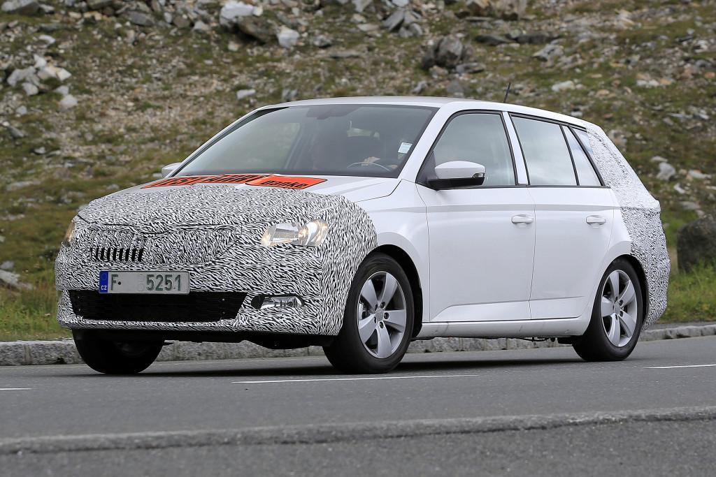 Семейство Škoda Fabia начали готовить к обновлению