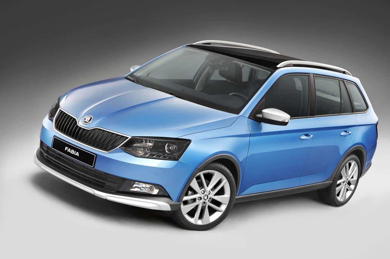 Škoda Fabia Combi попросился на просёлочные дороги