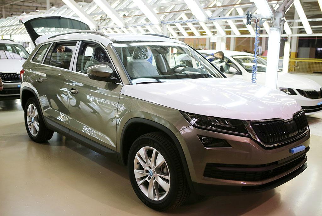 Кроссовер Škoda Kodiaq начали собирать в Украине