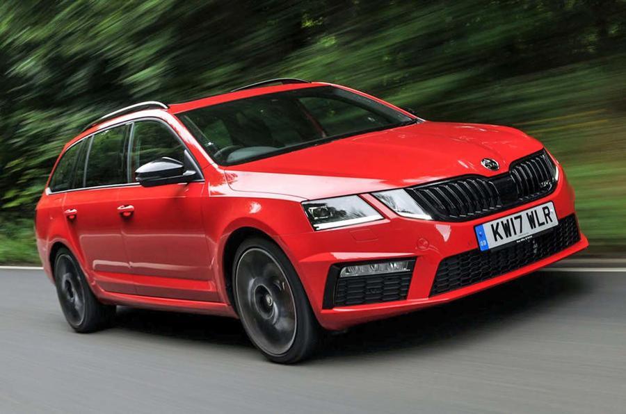 Следующая Škoda Octavia vRS станет гибридом