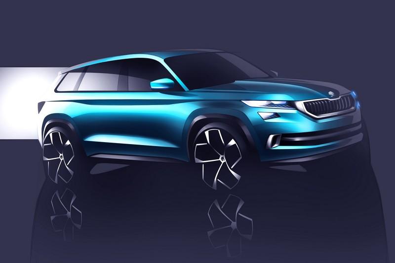 Škoda показала предвестника серийного кроссовера