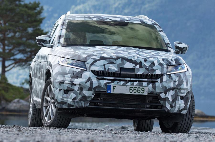 Раскрыты новые подробности кроссовера Škoda Kodiaq