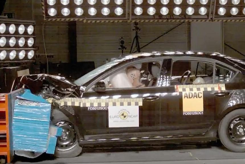 Skoda Octavia прошла краш-тест на пять звёзд