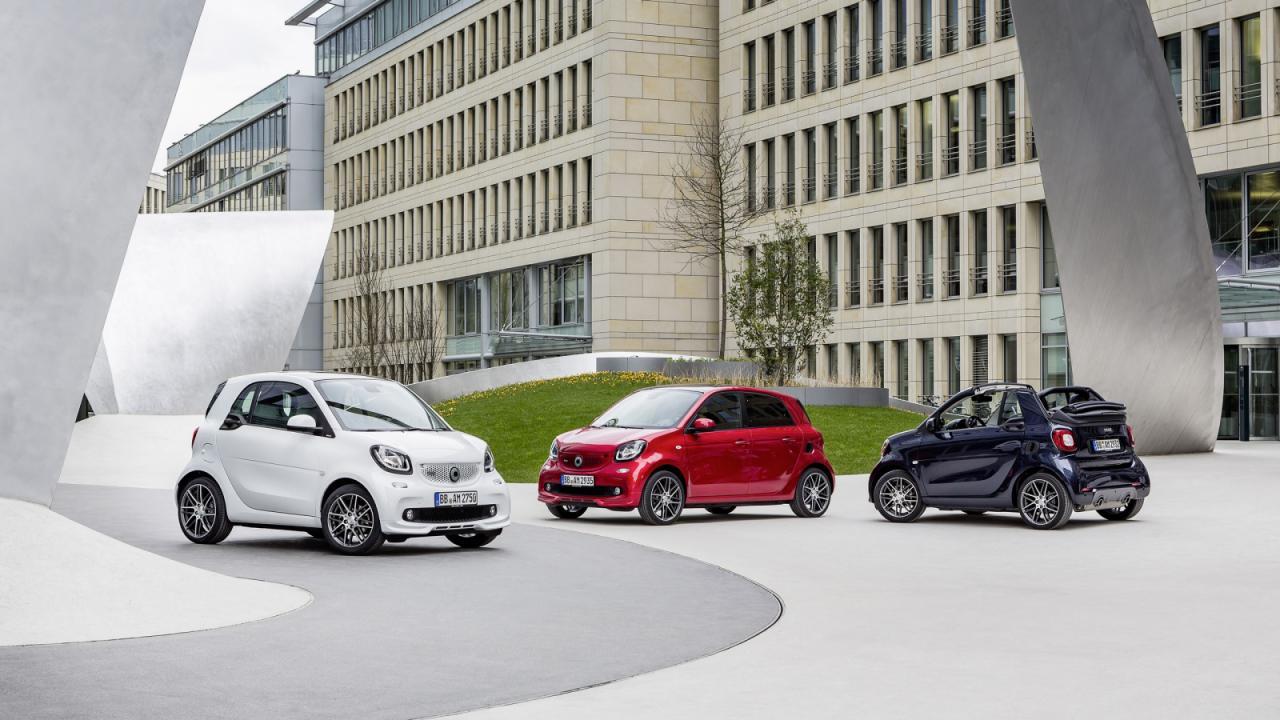 Brabus представил самые мощные автомобили Smart