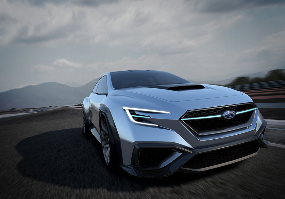 Улучшенный Субару WRX получит внешность концепта Viziv Performance