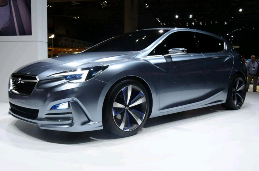 subaru продемонстрировала концепт кар на автосалоне в токио 2014