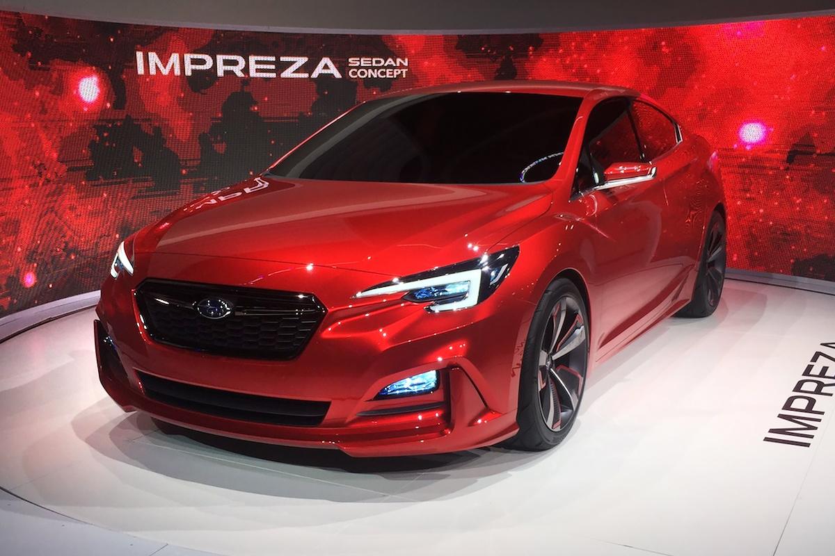 Subaru показала каким будет новый Impreza Sedan