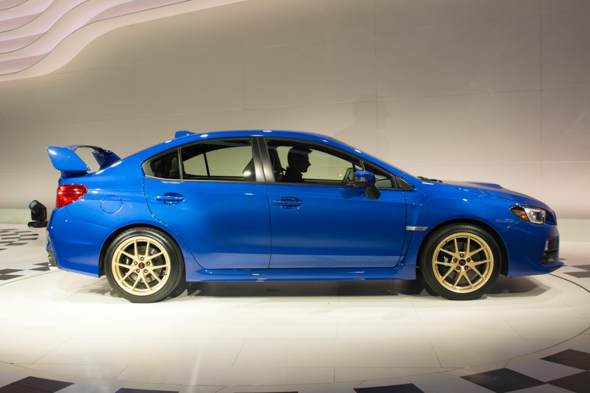 Новый Subaru WRX STI раскрыл карты перед Детройтом (42 фото)
